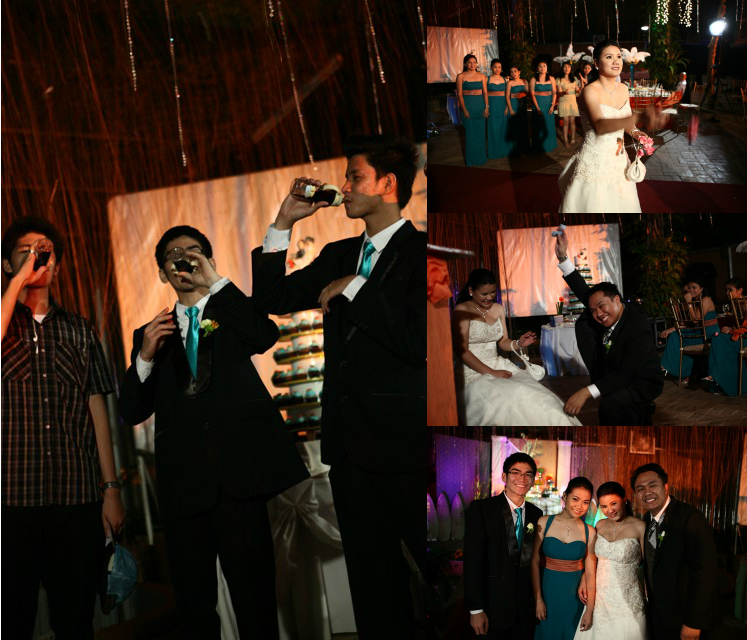 The Bouquet And Garter Toss With A Twist